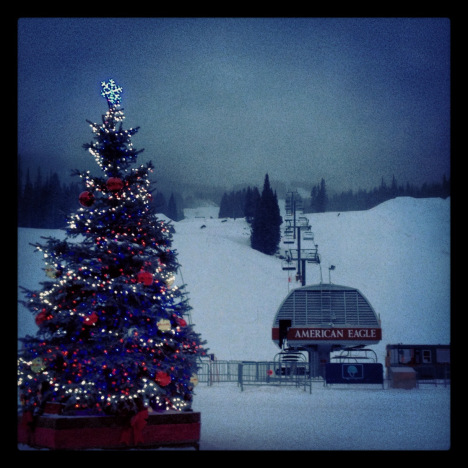 Copper Mountain Christmas tree