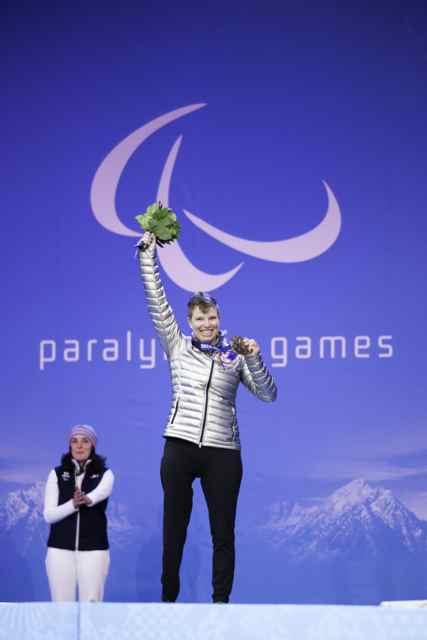 Paralympic skier Allison Jones