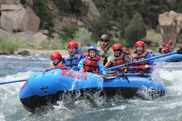 Kodi rafting Summit County