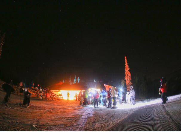 Copper Mountain Moonlight dinner