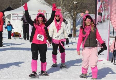 Snowshoe for the cure