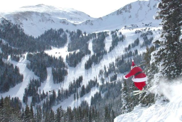Christmas In Colorado Mountains.Just In Time For Christmas Oodles Of Powder At Copper Mountain