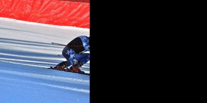 U.S. ski team speed center training at Copper Mountain