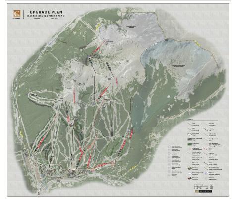 Copper Mountain ski area improvements