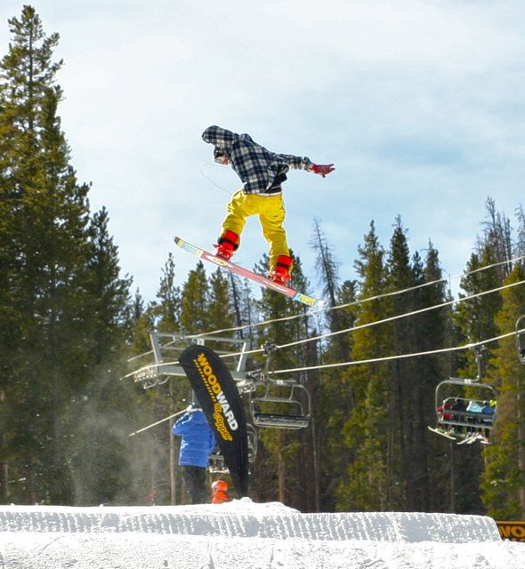 Going big at Copper Mountain