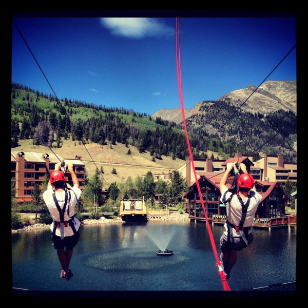 copper mountain zipline