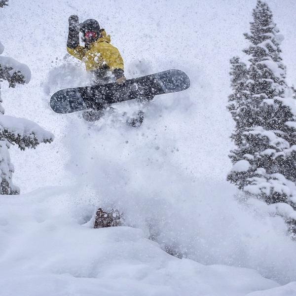 Copper Mtn snowboarding Tripp Fay photo