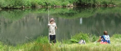 Fishing near Copper Mountain