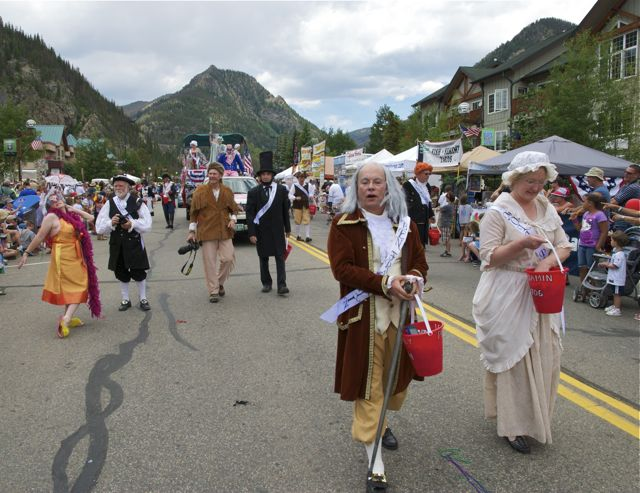 Frisco Colorado July 4th parade