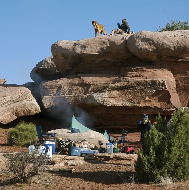 Fourth-grade free public lands access camping moab
