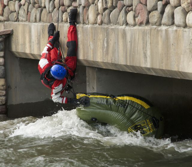raft rescue Colorado