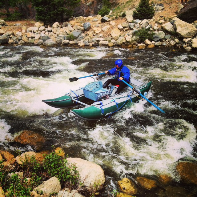 Copper Mountain rafting