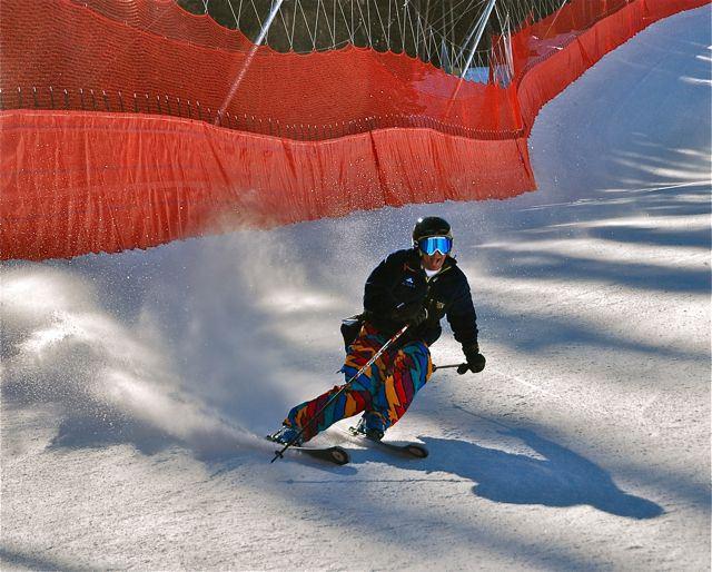 Early season skiing at Copper Mountain