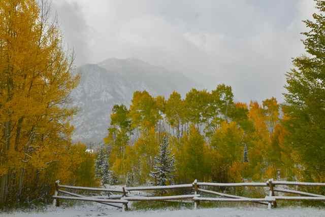 Summit County snow
