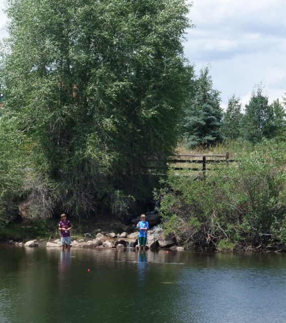 Fishing with kids in Summit County