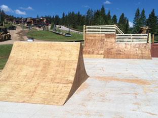Copper Mountain West Village skate park